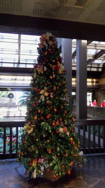 Polynesian Christmas Tree