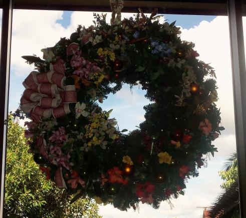 Polynesian Christmas Wreath