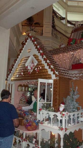 GF Gingerbread House Sale Window