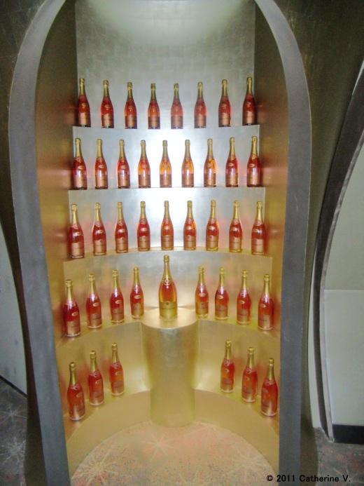 Pink Champagne Bottles