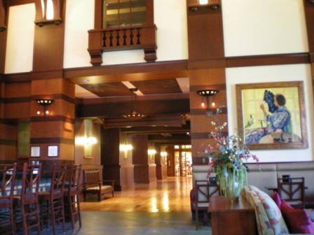 Hearthstone Lounge Disney's Grand Californian