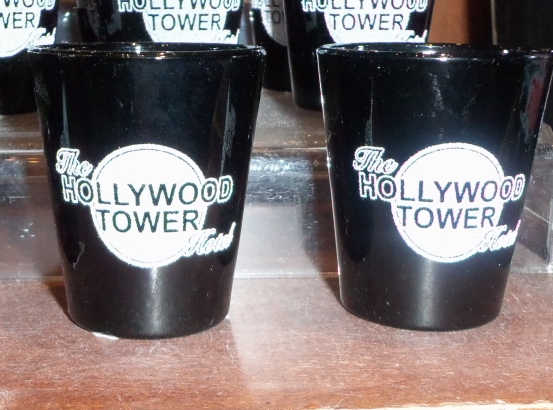 Hollywood Tower Shot Glass