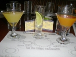Margarita tasting on the Disney Dream.  Photo courtesy of Catherine V.